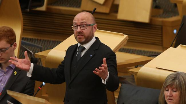 Patrick Harvie spoke out as he welcomed the launch of The National's new Big Enough, Smart Enough,Rich Enough campaign