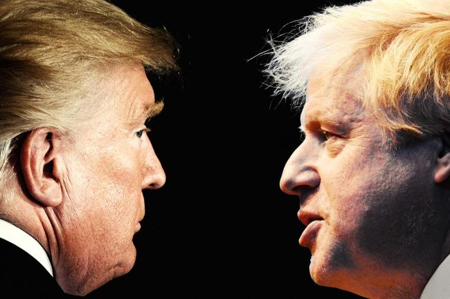 Double trouble: The startling similarities between Johnson