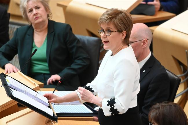 Concerns were raised about Nicola Sturgeon's summer visit to the US and Canada last year