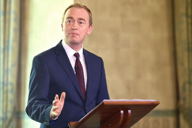 Tim Farron led the LibDems from 2015 to 2017