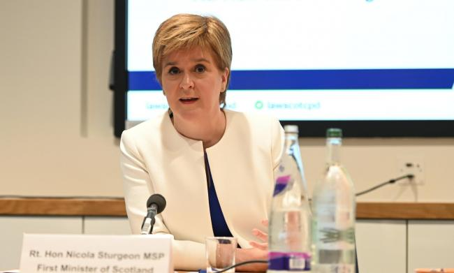 Nicola Sturgeon's speech marked 20 years of devolution