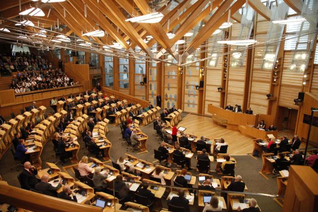 Is there a danger Holyrood will be shut down?