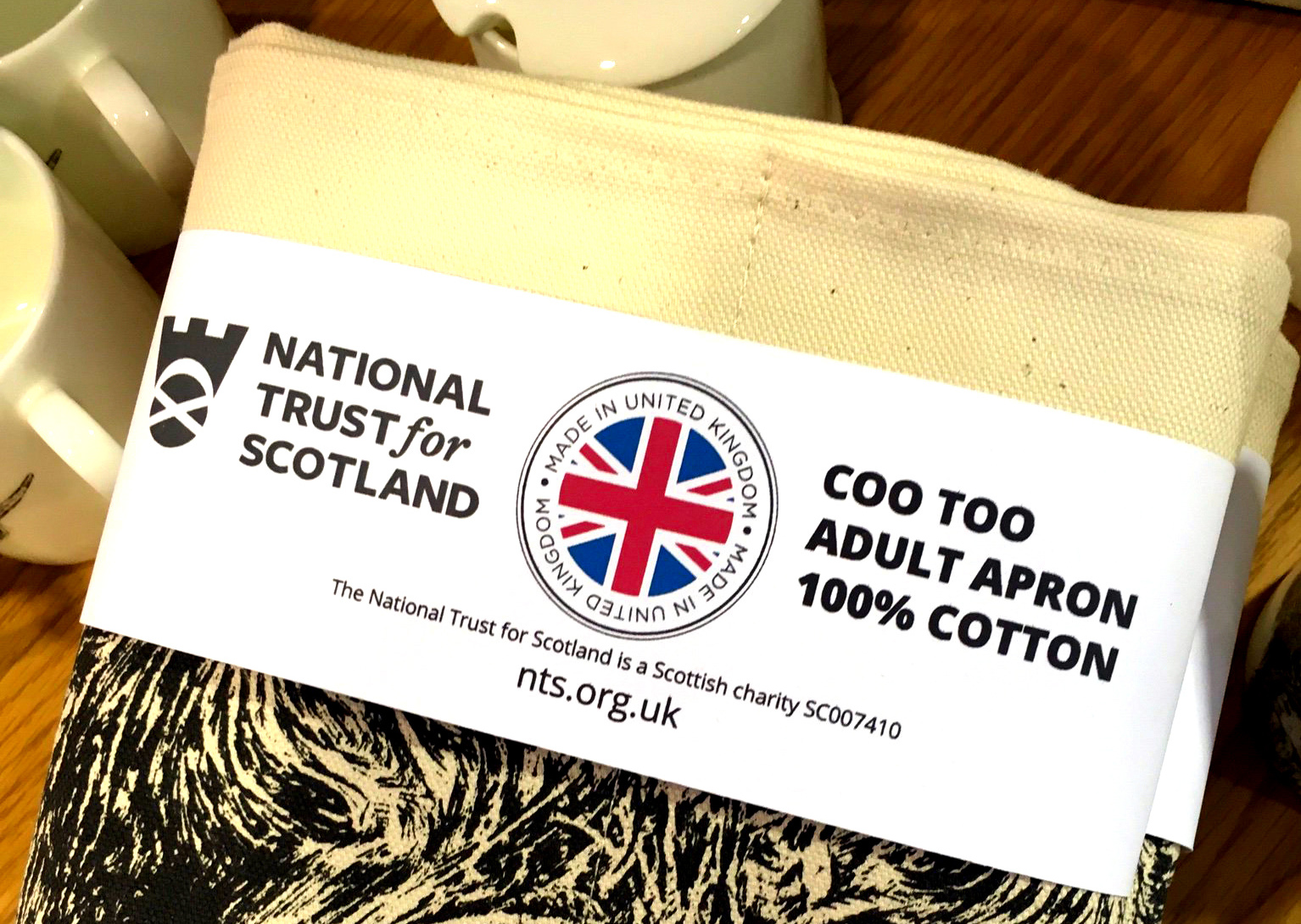 National Trust for Scotland under fire for Union Jacks on Scots products