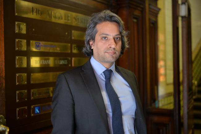 Usman Aslam is a solicitor for McGlashan MacKay