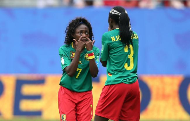 The Cameroon women, distressed at what they felt was unjust trial by VAR, had threatened to walk off the park