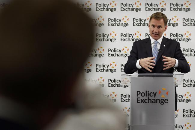 Jeremy Hunt revealed more details about his Brexit delivery plan