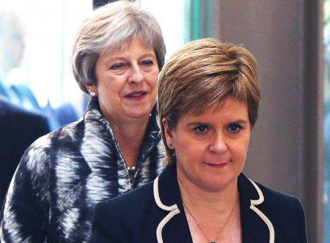 Nicola Sturgeon has said there is nothing Theresa May's successor can do to fix the issue of the Union. Photography: Ken Jack