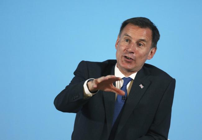 Jeremy Hunt sought to play down his comments when he appeared on BBC Radio 4's Today programme