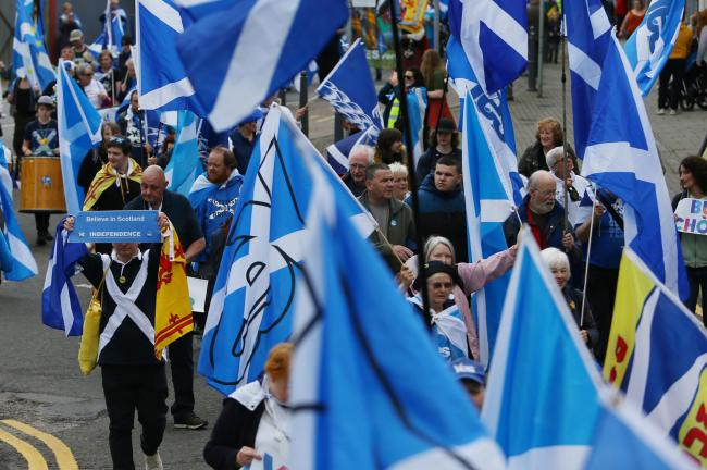 All Under One Banner is holding a series of marches and rallies for Scottish independence this year
