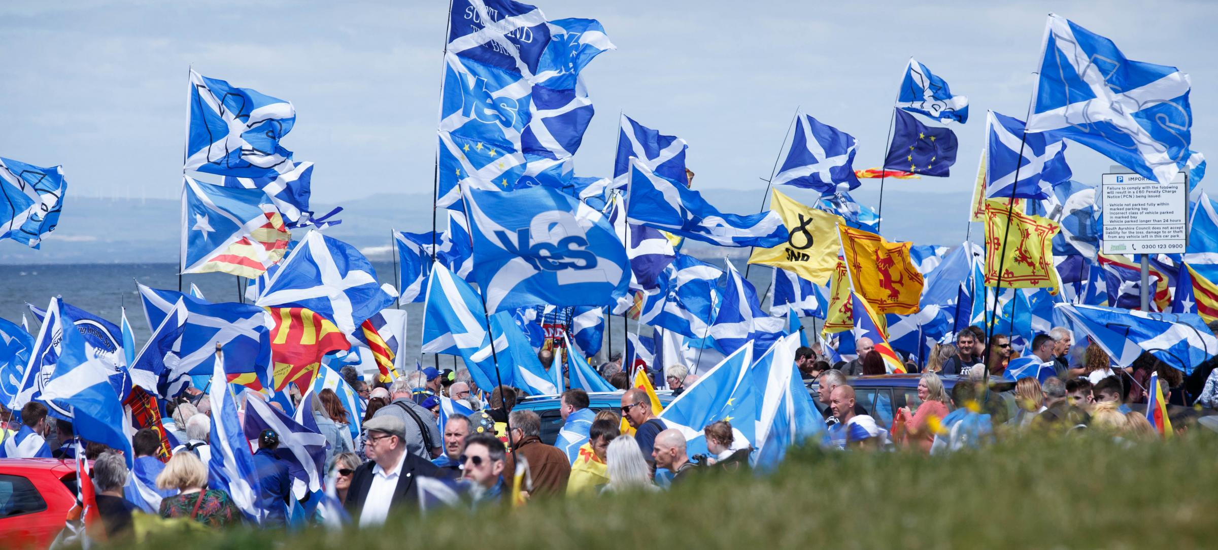 Ayr for Independence reflect on their big day