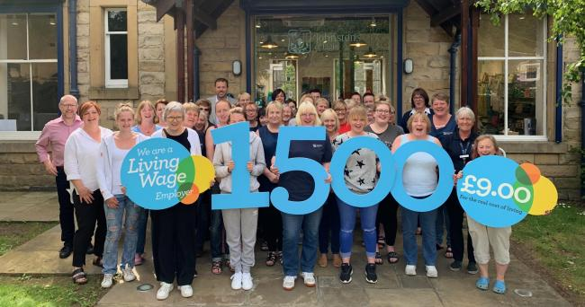 Johnstons of Elgin is the 1500th Living Wage employer in Scotland
