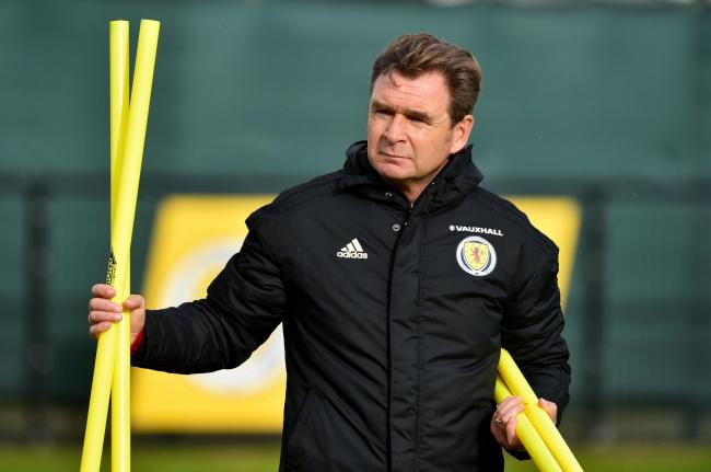Scotland assistant manager Peter Grant