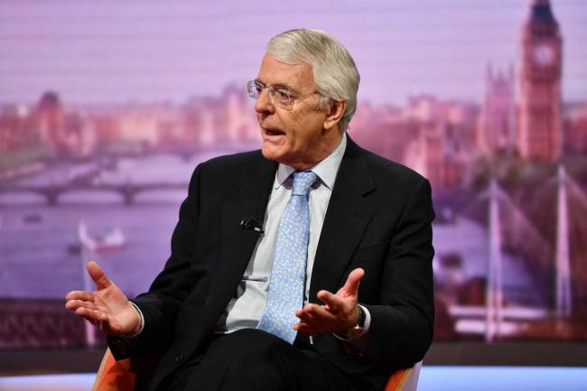 Sir John Major is prepared to take the Tory candidate to court