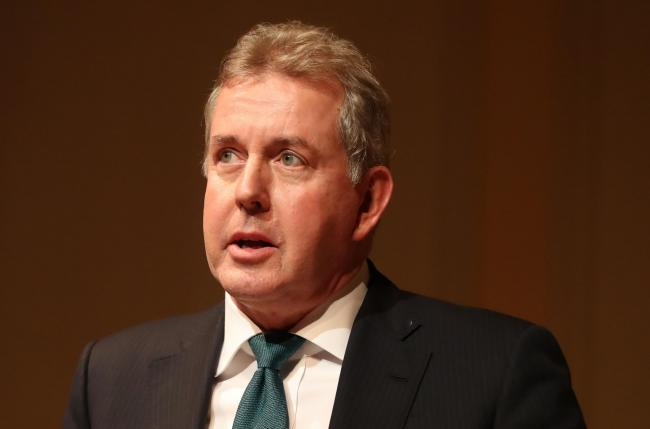 Sir Kim Darroch resigned as ambassador to the US after Boris Johnson refused to support him