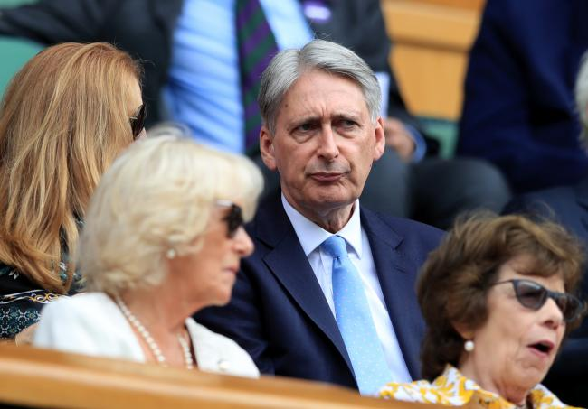 Philip Hammond said he would back Sir John Major's move to take Boris Johnson to court over Brexit. Photograph: Adam Davy
