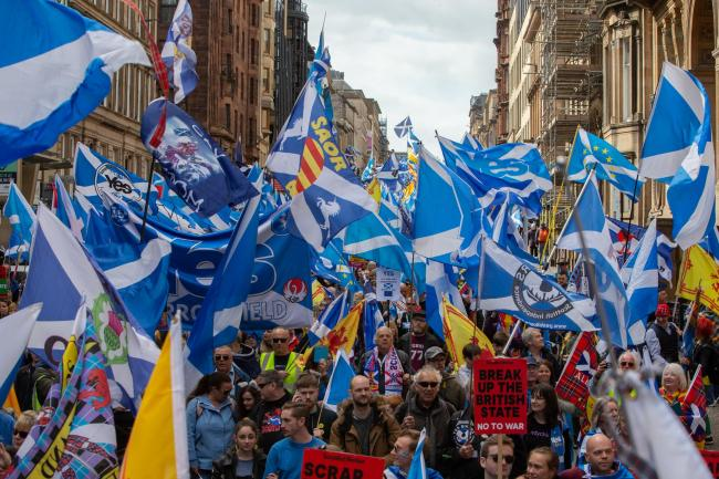 Yessers will be able to use the new flag at marches