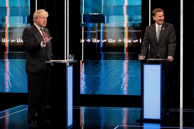Boris Johnson and Jeremy Hunt will take part in a debate, hosted by The Sun and talkRadio, in front of a live studio audience in London
