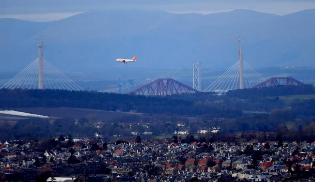 Edinburgh Airport has recorded its busiest June ever for passenger numbers
