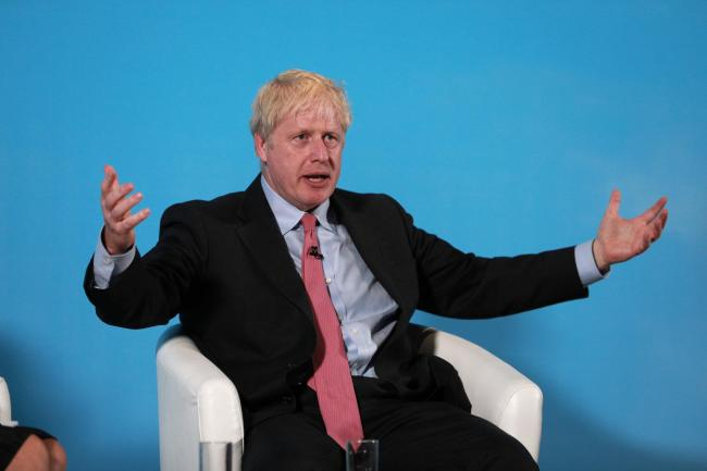 Boris Johnson said the UK 'should not be terrified' of a no-deal Brexit