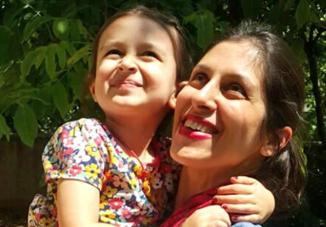 Nazanin Zaghari-Ratcliffe was sentenced to five years in prison