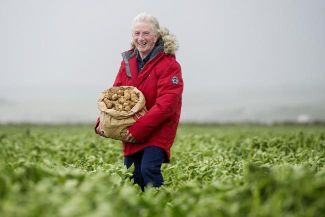 Jamie McCoo from Deal in Kent is arguably Britain's biggest potato-lover