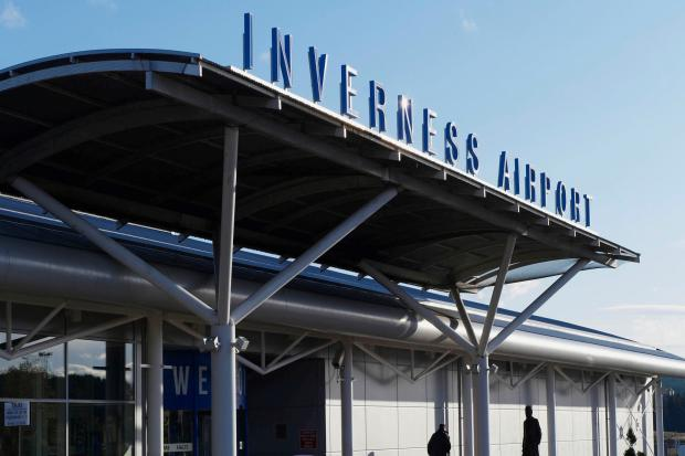 Inverness Airport will be shut to air traffic on Sunday