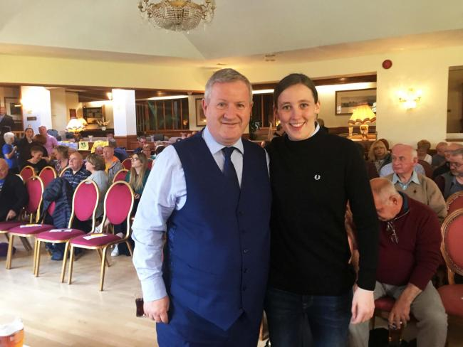 Mhairi Black and Ian Blackford kicked off their independence roadshows in the Highland village of Banavie
