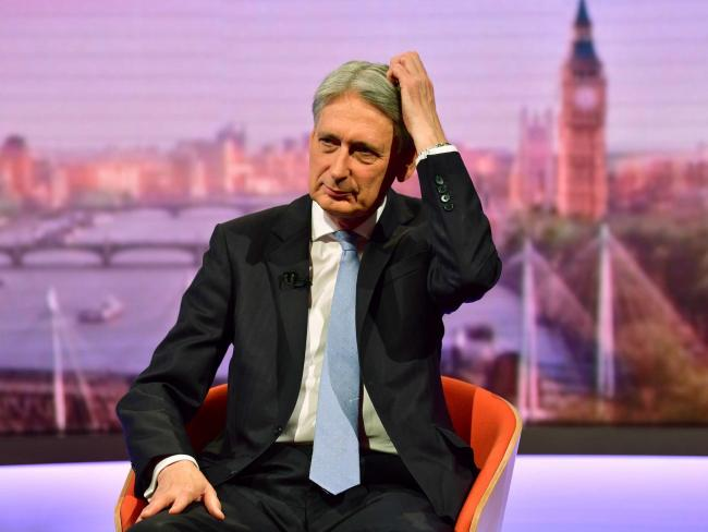 The SNP said Philip Hammond's resignation is a bad sign for the favourite to become prime minister