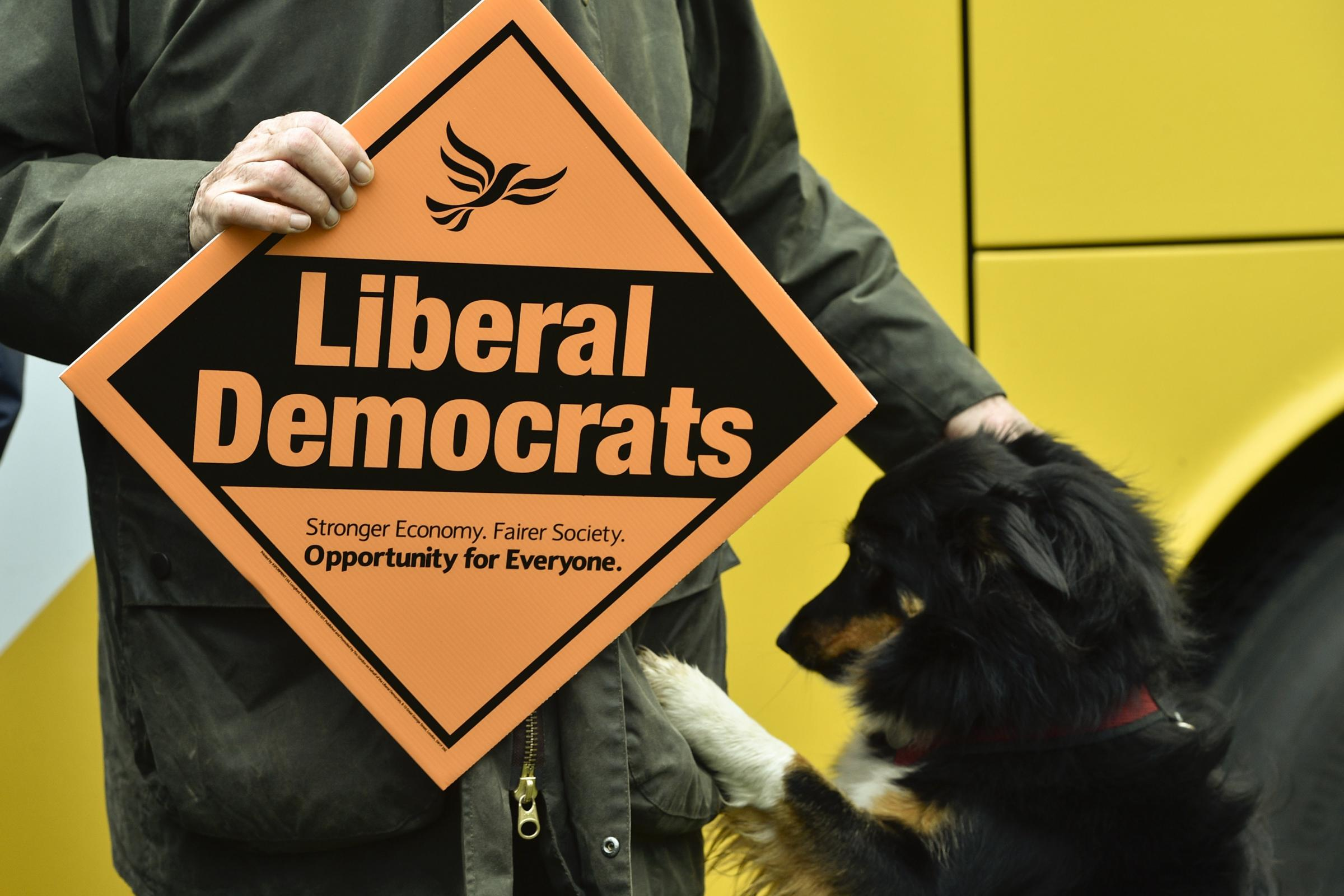 LibDems slammed for 'cheek' over using 'once in a generation' themselves