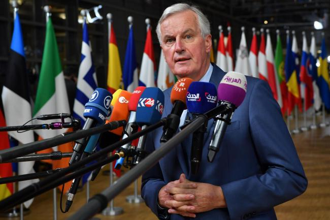 Michel Barnier wrote about the risks of No Deal in the Sunday Telegraph