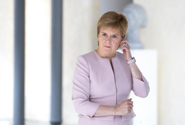 First Minister Nicola Sturgeon has 'profound concerns' about Johnson. Photograph: Jane Barlow