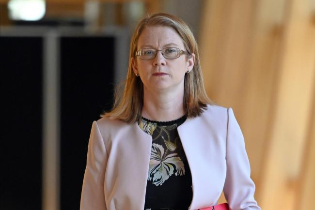 Scottish Social Security Secretary Shirley-Anne Somerville said evidence showed Universal Credit was putting people into poverty. Photograph: Ken Jack