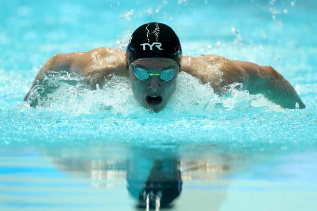 Duncan Scott competes in the 200m individual medley semi-final in South Korea