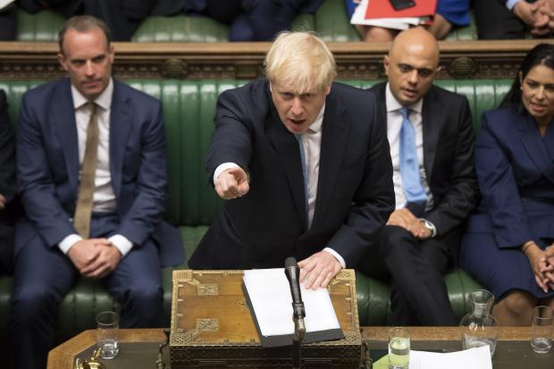 The National: Boris Johnson Commons statement