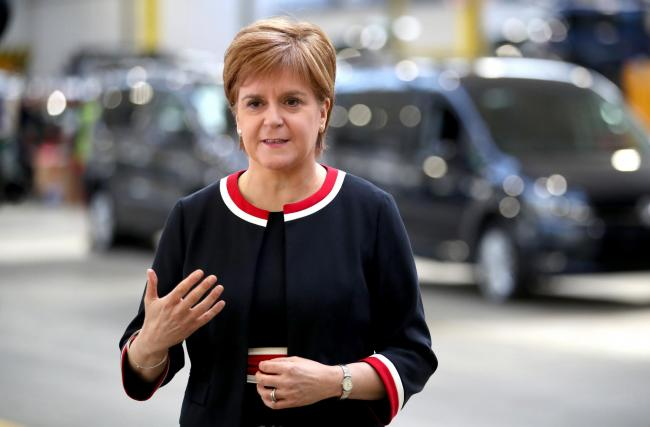 First Minister Nicola Sturgeon issued a joint letter to the new prime minister