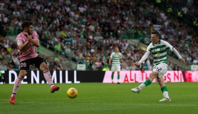 Callum McGregor was subject to interest from Leicester City prior to the closure of the transfer window. Picture: PA