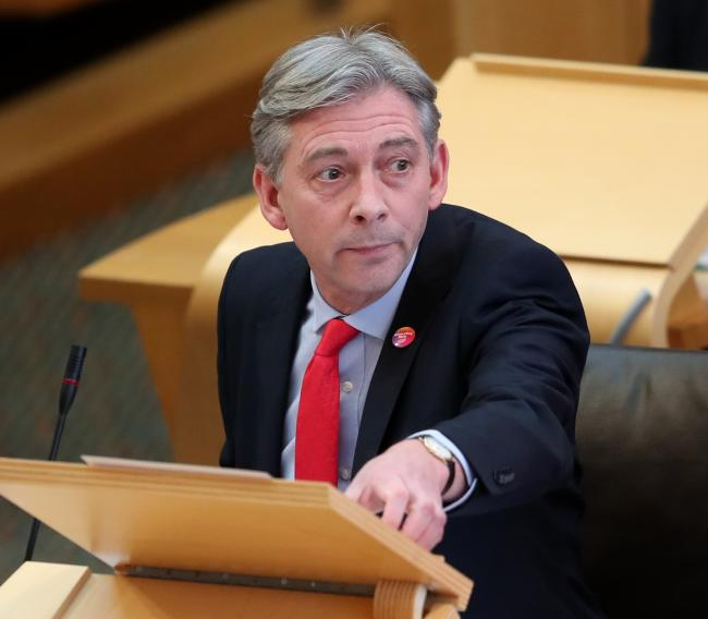 Scottish Labour leader Richard Leonard has seen his party's vote continue to fall in recent elections
