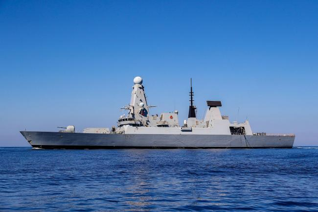 HMS Duncan has been sent to help protect British-flagged vessels in the Strait of Hormuz