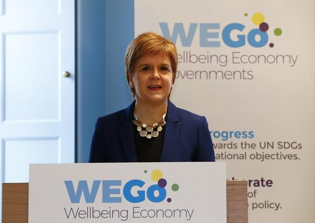 The First Minister hosted a meeting of the Wellbeing Economy Governments Group in Edinburgh earlier this year