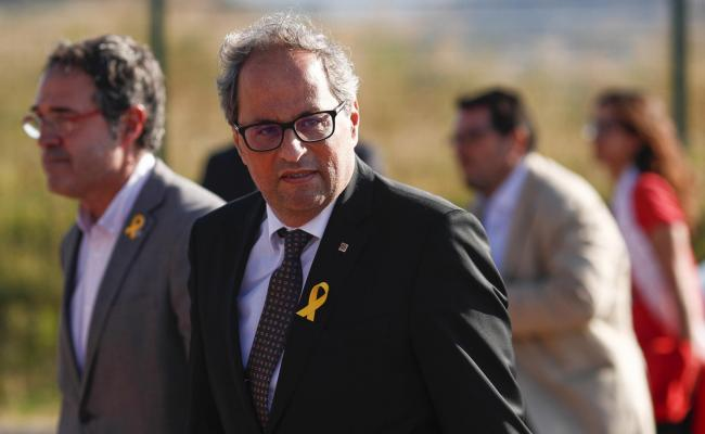 Quim Torra has said he does not intend to pay the fines issued by the Central Electoral Board