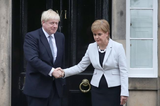 Tories criticise Sturgeon for calling Johnson 'Boris' and not 'Prime Minister'
