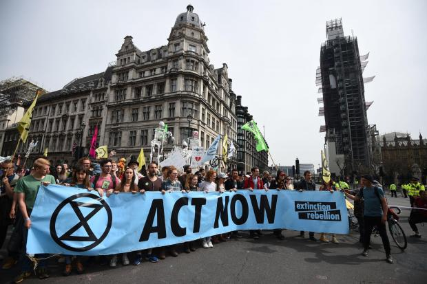The National: Extinction Rebellion has taken action against Shell