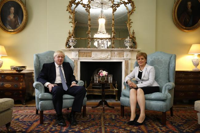 Boris Johnson's visit to Scotland was very much in the role of Emperor Caligula visiting one of Rome's rebellious provinces