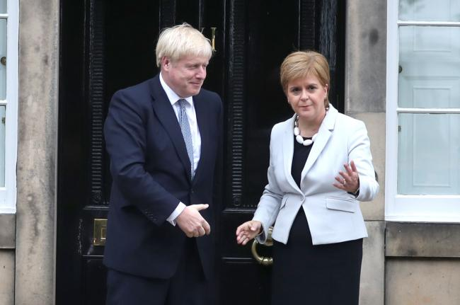 Boris Johnson could transfer powers to Nicola Sturgeon, which would lead to a 2020 indyref