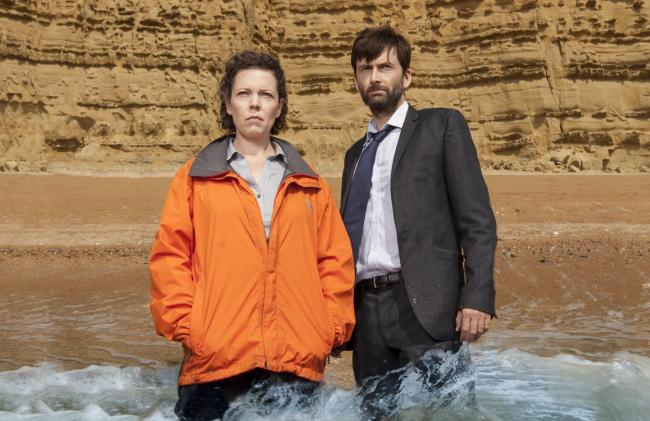 Shows such as Broadchurch, starring David Tennant and Olivia Coleman, will appear on the BritBox service