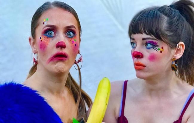 2 Clowns 1 Cup is one of the many (real) shows at this year's Edinburgh Fringe