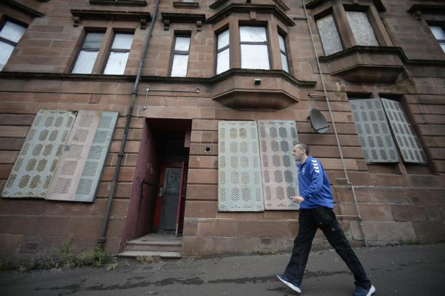 Currently one million Scots officially live in poverty