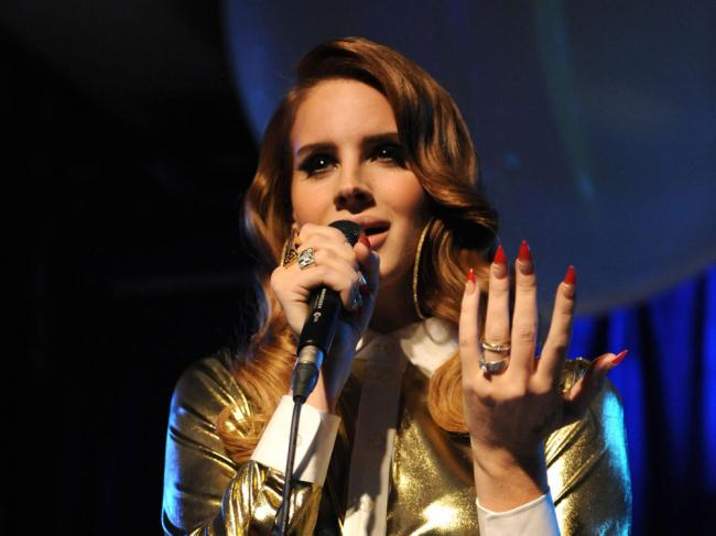 Lana Del Rey has previously spent time in Glasgow while dating her ex-partner
