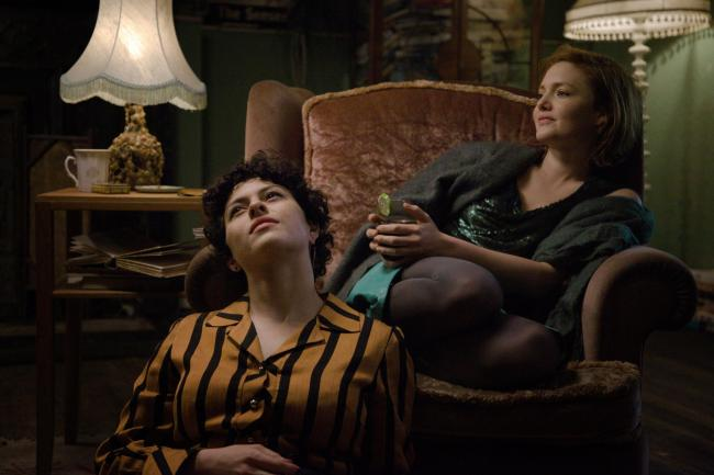 Alia Shawkat as Tyler and Holliday Grainger as Laura