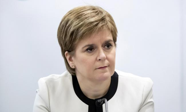 Nicola Sturgeon: Catalonia's future should be decided at the ballot box, not in the courts